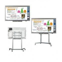 "Monitor SHARP PNL802B LCD Touch 80"" FHD Bezel 50MM HDMI Uso Rudo"