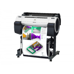 "Plotter CANON imagePROGRAF iPF670 9854B002AB 24"" 5 Colores"