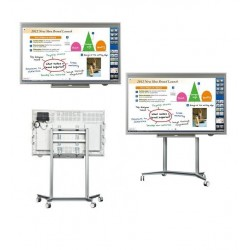 "Pizarron Interactivo SHARP PNL703B Touch LCD 70"" Uso Rudo 3YR"