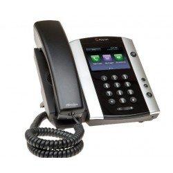 Polycom Teléfono IP VVX 500 Multimedia 3.5'' Alámbrico 12 Líneas Altavoz
