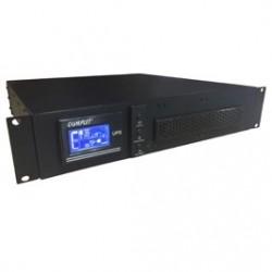 UPS COMPLET UPS-1-033 Senoidal 1KVA Resp 12 Min Rack On Line Doble Conversion Alta