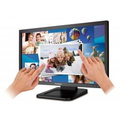 "Monitor VIEWSONIC TD2220 (22"") LCD Óptico Pantalla Multi-táctil 1920 x 1080 Full HD LED Retroiluminación DVI USB VGA"