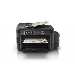 MFC EPSON C11CF49301 VEcoTank L1455 Inyección 2400 dpi A3 Impresora Copiadora Escáner Fax Wi Fi Ethernet USB