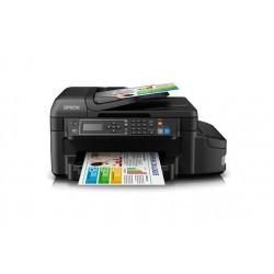 MFC EPSON C11CE71301 EcoTank L655 Inyección Impresora Copiadora Escáner Fax Wi Fi Ethernet USB.