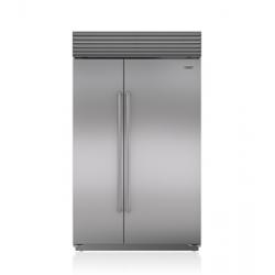 Refrigerador Congelador Sub-Zero BI-48SID Duplex Despachador Interno