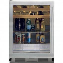 Centro de Bebidas Sub-Zero UC-24BG 5.7 pies 4 Repisas 1 Canasta Puerta de Vidrio
