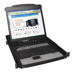 "Switch TRIPP-LITE B020-U08-19-IP KVM 8 Puertos Consola LCD 19"" Pantalla Touchpad"