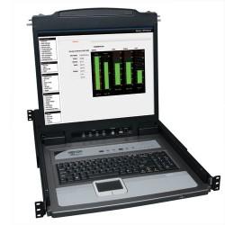 "Switch TRIPP-LITE B020-U08-19-K KVM de 8 Puertos con Consola LCD 19"""
