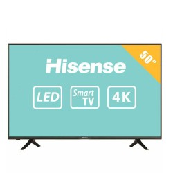 "TV HISENSE 50H6D LED 50"" UltraHD 60Hz SmartTV WiFi Negro"