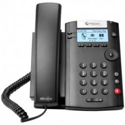 Telefono Multimedia Polycom VVX 201 IP Dos Lineas HD para Skype 2200-40450-019
