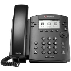Telefono Multimedia Polycom VVX 311 POE 6 Lineas para Skype 2200-48350-019