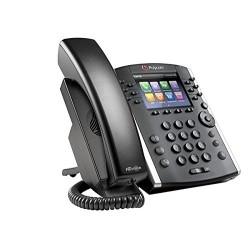 Telefono Escritorio Polycom VVX 401 POE 12 Lineas HD Voice 2200-48400-025