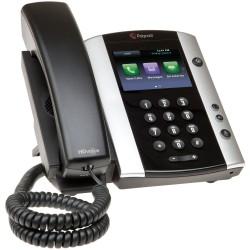 Telefono Escritorio Polycom VVX 501 POE 12 Lineas para Skype 2200-48500-019