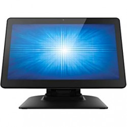 "AIO ELOTOUCH E970665 I-Series LED 15.6"" Wide Core i5-6500TE Win10 Projected Capacitive 10-touch Clear Zero-bezel Gray"