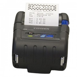 Impresora Móvil CITIZEN CMP-20BTU Transferencia Térmica Bluetooth USB Negro