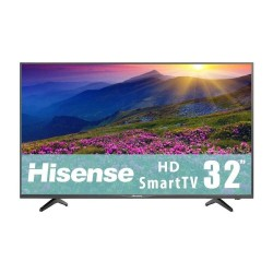 "TV HISENSE 32H5E LED 32"" HD SmartTV 60Hz HDMI USB Negro"