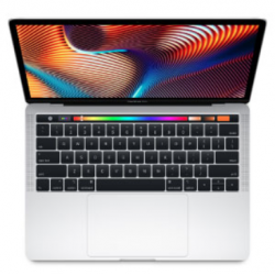 Macbook Pro Apple MV922E/A Core i7/9°G 6 Cores 2,6GHz 256GB Touch Bar Plata