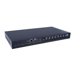 Controlador 8x8 HDMI2.0 Matrix Support 4K @ 60hz YUV4: 4: 4, 18Gbps, HDR