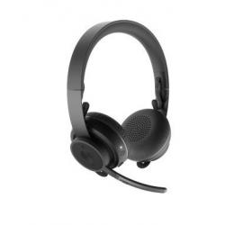 Diadema Logitech Zone Inalámbrico - Bluetooth -Micrófono - Negro