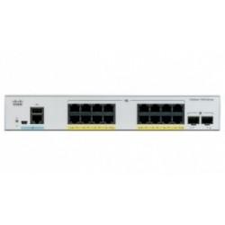 Switch Cisco Gigabit Ethernet Catalyst 1000, 16 Puertos 10/100/1000Mbps + 2 Puertos SFP, 36 Gbit/s, 15.360 Entradas - Ge