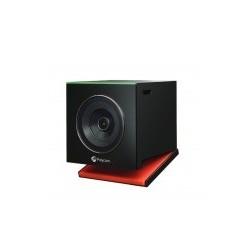 Poly Cámara HD para Videoconferencia EagleEye Cube, Zoom 5X, Negro/Rojo