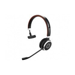 Jabra Audífonos Monoaural Evolve 65 UC Mono, Bluetooth, Alámbrico/Inalámbrico, Negro