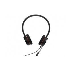 Jabra Audífonos Evolve 20 MS Stereo, Alámbrico, USB, Negro