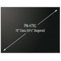 "Monitor SHARP PNH701 LED 70"" 4K Bezel 8.8MM Uso Rudo 3YR"