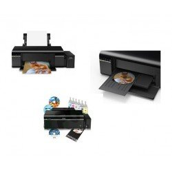 Impresora Epson EcoTank L805 Wi-Fi USB Fotos CD DVD Documentos