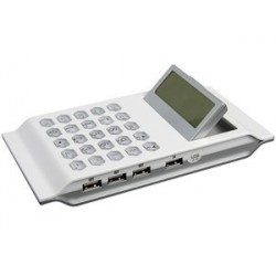Calculadora GR-9481 con 3 Puertos USB 2.0