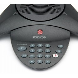 Teléfono POLYCOM Soundstation2 SS2 Non-Expandable No Display 2200-15100-001