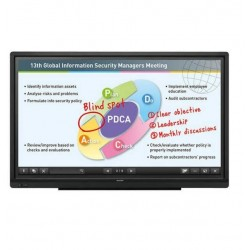 "Pizarron SHARP PNC605B Interactivo Touch LED 60"" Uso Rudo 3YR"