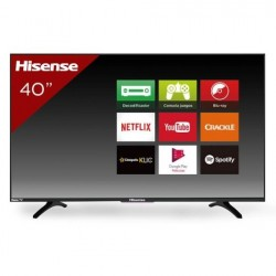 "TV HISENSE 40H4CM LED 40"" FullHD SmartTV 60Hz HDMI USB WiFi"