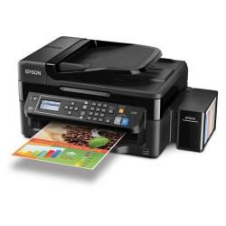 MFC EPSON C11CE71302 EcoTank L656 Inyección Impresora Copiadora Escáner Fax Wi Fi Ethernet USB