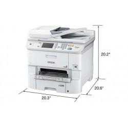 MFC EPSON C11CD49201 WF-6590 WorkForce Pro Inyección Impresora Copiadora Escáner Fax Wi Fi Ethernet USB