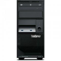 Servidor LENOVO 70LU000PLD ThinkServer TS150 Xeon E3-1225 v5 8GB DDR4 ECC 1 x 1TB HD Graphics P530 Gigabit DVD R RW WServer 2012