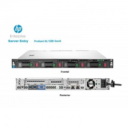 Servidor HPE 830011 ProLiant DL120 Gen9 Xeon E5-2603v4 6Core 15MB 8GB Ethernet