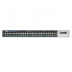 Conmutador CISCO WS-C3560X-48PF-S 48 Puertos Gestionable 48 x Gigabit Ethernet Red Capa 3