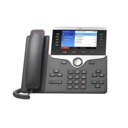 Telefono CISCO CP-8851-K9 IP VoIP Red USB PoE Altavoz Montable en Pared