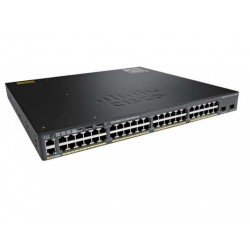 Conmutador CISCO WS-C2960XR-24PD-I Ethernet Catalyst 24 Puertos Gestionable 3 Capa
