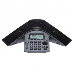 Teléfono POLYCOM SoundStation Duo Para Conferencia Modo Dual Alámbrico, 248 x 68 Pixeles 2200-19000-001