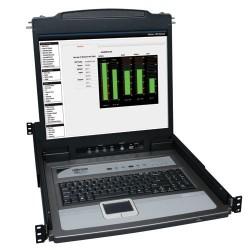 "Switch TRIPP-LITE B020-U16-19-K KVM de 16 Puertos con Consola LCD 19"""