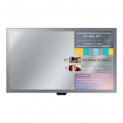 "Monitor SAMSUNG Professional SmartSignage Mirror Display LH32M LED 32"" Full HD 1920x1080 QuadCore 8GB HDMI USB RGB"