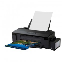 Impresora EPSON L1800 Color Tabloide USB Tinta Continua