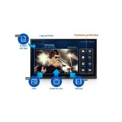"Monitor SAMSUNG HG43NE460SFXZA LED FHD 43"" 1920 x 1080 Hospitality HDMI USB"