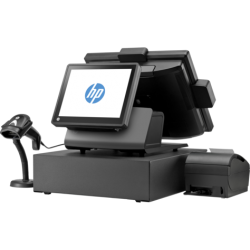 "Terminal POS HP RP7 7800 1FL27UA Integrated Ci3-2120 RAM 2GB 500 GB LED 15"" Capacitive Touch HD Graphics Basic and 2000 Free DOS"