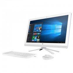 "Desktop HP 24-g216la X6A95AA Ci3 7100U 6GB DDR4 1TB AIO LED 23.8"" HD Graphics 620 U Óptica DVD±R/RW W10 Home"