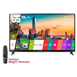 "TV LG Smart 65UJ6300 LED 65"" webOS 3.5 UHD 4K 3840 X 2160 USB HDMI"