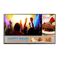 "Monitor Profesional SAMSUNG RM48D LED 48"" SMART Signage TV FHD HDMI Bezel 9.5mm 16/7 3YRGarantia LH48RMDPLGA"