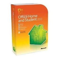 Microsoft Office Home and Student 2010 32/64 Bts DVD Espanol